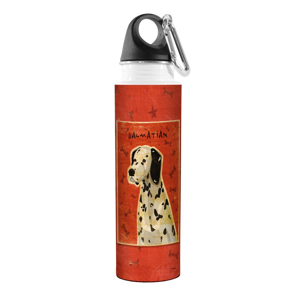 Dalmatian Tree Free 18-Ounce Tree-Free Greetings VB47995 John W Golden Artful Traveler Stainless Steel Water Bottle