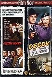 Crime Wave / Decoy (Film Noir Double Feature)