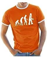 Robot Evolution Big Bang Theory ! Ringer T-Shirt S - XXL verschiedene Farben