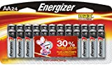 Energizer MAX provides the long-lasting power that today's devices and electronics demand.  Designed to prevent damaging leaks, Energizer MAX AA lasts up to 10 years in storage and gives you the confidence that you'll have reliable energy when you ne...