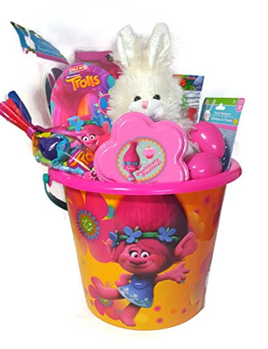 Easter Egg Hunt (Trolls Jumbo Easter Basket of Goodies) (Jumbo White Bunny Kit)