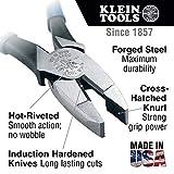 Klein Tools D2000-9NE Side Cutter Linemans Pliers