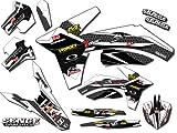 2006 suzuki rmz 450 graphics - Senge Graphics 2005-2006 Suzuki RMZ 450, Podium White Graphics Kit