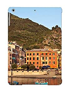New Arrival Case Specially Design For Ipad Air (italy Houses Mountains Boats Vernazza Liguria Cities ) by lolosakes