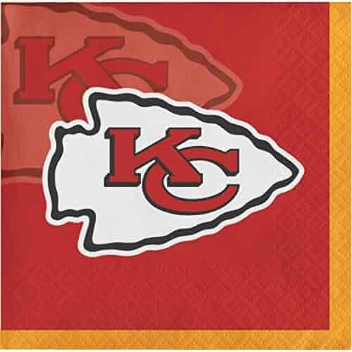 Kansas City Chiefs Beverage Napkins, 48 ct