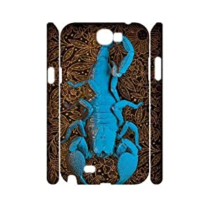 case Of Scorpion Customized Hard Case For Samsung Galaxy Note 2 N7100
