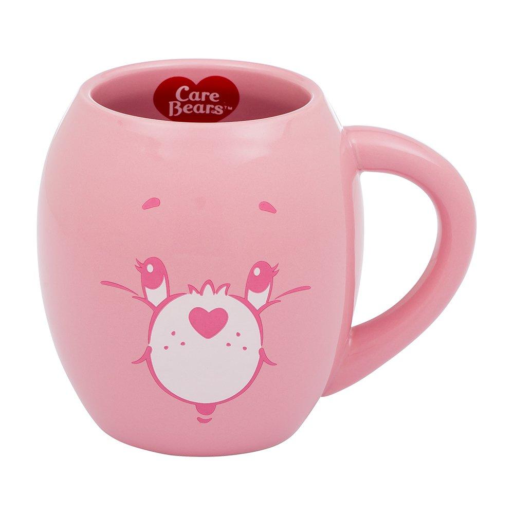 Vandor Care Bears Cheer Bear 18 Ounce Oval Ceramic Mug 29061 by Vandor