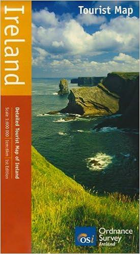 Osi Map Of Ireland.Ireland Tourist Map Osi Maps Amazon Co Uk Ordnance Survey