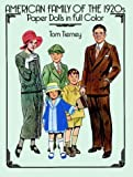 American Family of the 1920s Paper Dolls in Full Color