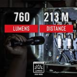 COAST HP8R 760 Lumen Rechargeable Pure Beam