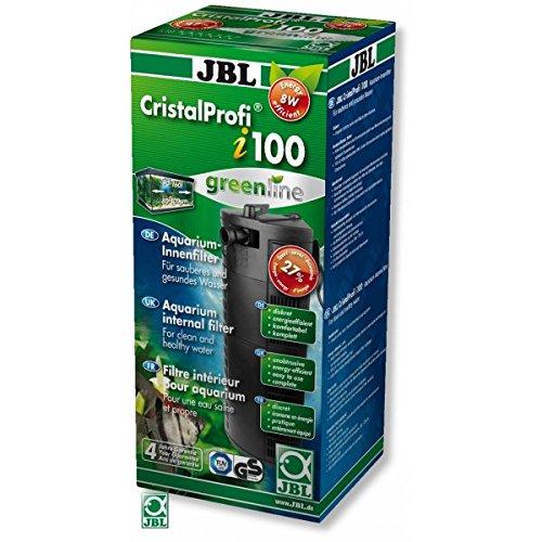 JBL 6097300 Energieeffizienter Innenfilter für Aquarien mit 90-160 L, CristalProf i100 greenline