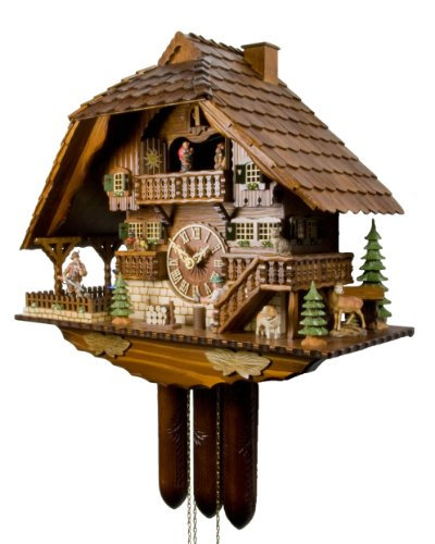 The Wild Forest Cuckoo Clock by Adolf Herr