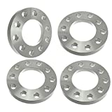 """4pcs Billet 1/2"""" Flat Wheel Spacers Adapters 