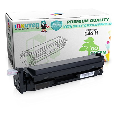 INKUTEN Compatible Canon 046 H Toner Cartridge for ImageClass MF735Cdw MF733Cdw MF731Cdw Printer High Yield 2,300 Pages (1 Pack, Black) -  TMP-A4087