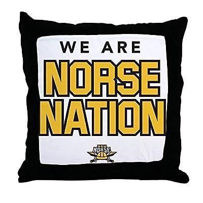 FiuFgyt Northern Kentucky NKU Norse Nation Throw Pillow Cover Home Decor Pillow Case Zipper Couch 18 x 18