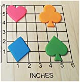 Playing Card Suits Shaped Fondant Cookie Cutter Set #1165