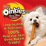 Hartz Oinkies Rawhide Free Pig Skin Dog Treat Chews