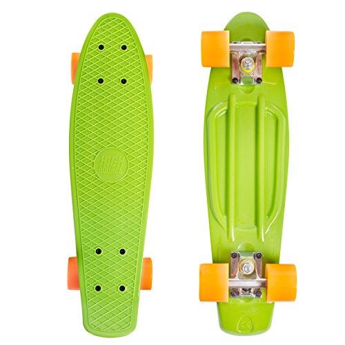 High Bounce Complete 22' Skateboard (Blue Camo)