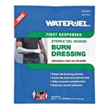 Burn Dressing, Sterile, Blue, 16'' L, PK7