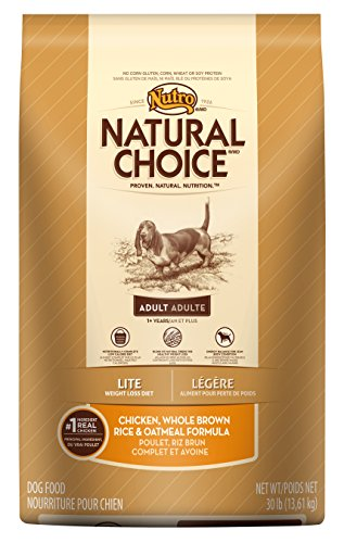 NATURAL CHOICE Lite Adult Dog Food Chicken, Whole Brown Rice and Oatmeal Formula, 30 lbs.