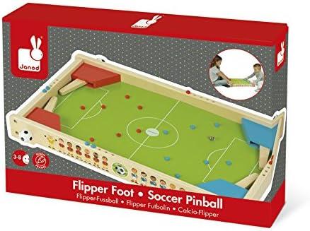 Janod Flipper FUTBOLÍN Champions (J02071), Multicolor (Juratoys ...
