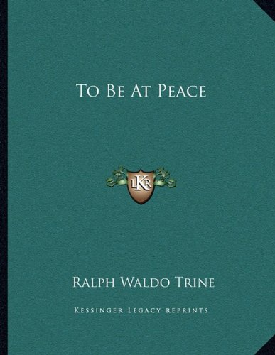 Download To Be At Peace pdf epub