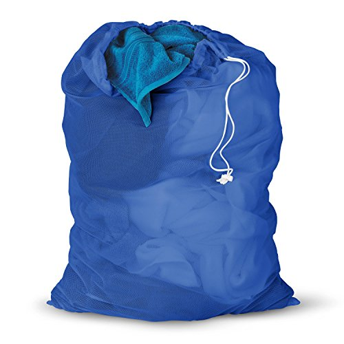 Honey LBG-01161 Blue Mesh Laundry Bag