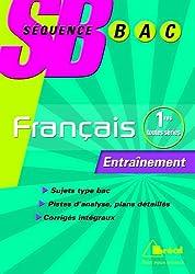 Français 1e : Entraînement