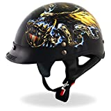 Hot Leathers D.O.T. USA Eagle Motorcycle Helmet (Glossy, 2X-Large)