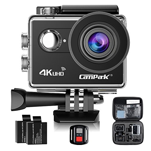 Campark Waterproof Underwater Camcorder Rechargeable