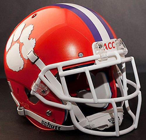 *CUSTOM* CLEMSON TIGERS Schutt AiR XP AUTHENTIC Football Helmet w/ EGOP Facemask