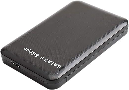 外付けHDD 2.5インチ USB 3.0 SATA ハードドライブ 高速 最大6 Gbps - 1T