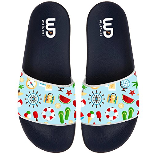 BVFCKMO Watermelon Big and Souvenir Men's Fashion Comfortable Flip Flop Big Watermelon Screen Slip On Slide Sandal B073721N1T Shoes 6ae13a