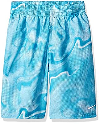 Nike Big Boys' Printed Volley Short Swim Trunk
