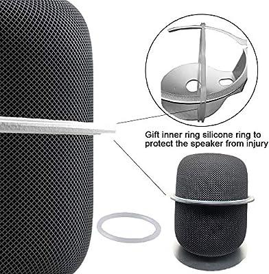 Incluido el Cable de Carga Corto el Mejor Accesorio de Altavoz Inteligente para el Hogar que Ahorra Espacio Adecuado para Echo Dot 2 -Rojo Chaowei Soporte de Suspensi/ón de Montaje en Pared