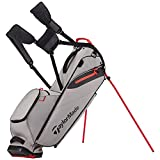 TaylorMade FlexTech Lite Golf Bag Gray/Red