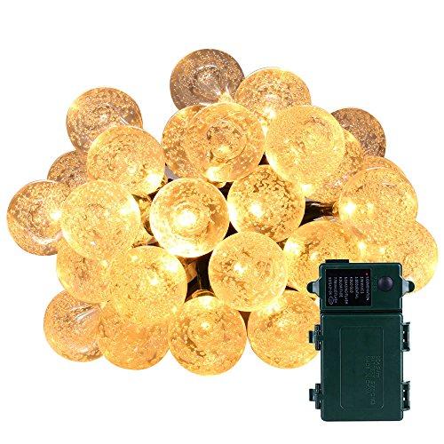 Qedertek Battery Operated Christmas Lights, 11f...