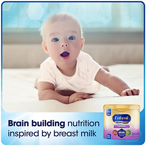 Enfamil NeuroPro Gentlease Infant Formula - Clinically Proven to reduce fussiness, gas, crying in 24 hours - Brain Building Nutrition Inspired by breast milk - Reusable Powder Tub, 20 oz by Enfamil (Image #2)