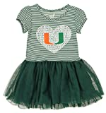 Outerstuff NCAA Girl's Toddlers Celebration Tutu, Miami Hurricanes Small (4)