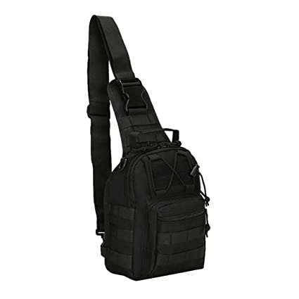 Military Tacticall Bag Molle Fishing Hiking Hunting Bags Sports Bag Chest Body Sling Single Shoulder Tactical Backpack Dayback Novel Design; In