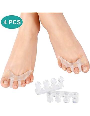 2 pares de dilatadores separadores de dedos para hombres y mujeres, separador de dedos de
