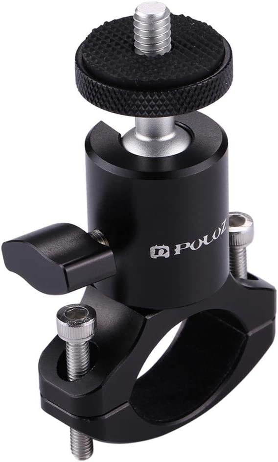 SMILEQ Para dji Osmo Action Accesorios para cámaras Soporte para Bicicleta Soporte 360 ° Girar Bicicleta Mano