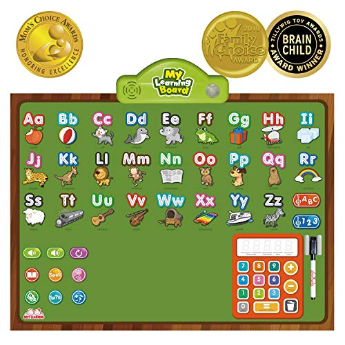 - BEST LEARNING i-Poster My Learning Board - Electronic Interactive Educational Talking Alphabet Numbers Music Poster Toy for Kids Boys & Girls 2 3 4 5 6 Years Old Daycare Preschool Kindergarten