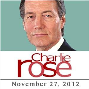 Charlie Rose: Antonin Scalia, November 27, 2012 Radio/TV Program