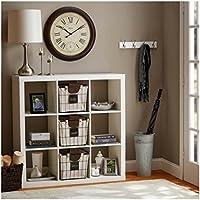 Better Homes and Gardens 9-cube Organizer Storage Bookcase Bookshelf Cabinet Divider (White)