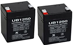 12v 5ah Battery Razor E100 Electric Scooter Gas Pocket Bike X1 X2 49cc - 2 Pack
