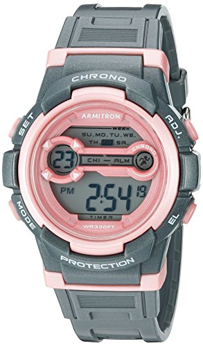 armitron-sport-womens-45-7064sgy-pink-accented-digital-chronograph-grey-sparkled-resin-strap-watch