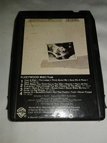 Fleetwood Mac - Tusk - 1979 - 8 Track Tape (Fleetwood Mac Cassette Tape compare prices)
