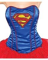 Rubie's Women's DC Comics Supergirl Corset