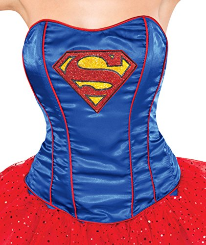 Rubie's Costume Co Women's Corset, Supergirl for $<!--$9.99-->